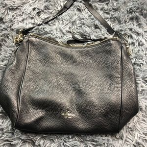 Kate Spade ♠️ black leather bag